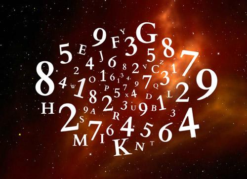 Numérologie avec les lettres